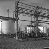 Project 487 - Keltan - leidingen om en nabij de pompenplaat, alsmede de tanks met leidingen in de put