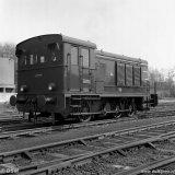 Diesellocomotief van het Spoorweg- en Expeditiebedrijf (SEB)