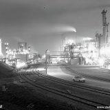 Avondopname van de Caprolactamfabriek op het Stikstofbindingsbedrijf