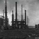 Acrylonitrilfabriek in aanbouw