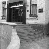 De nieuwe ingang van het Hoofdkantoor aan de Van der Maesenstraat 2 in Heerlen
