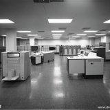 Computerzaal van het Computer Centrum Nederland (CCN) in Heerlen