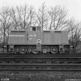 Locomotief nummer DSM 182 op de Staatsmijn Emma