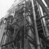 Abgas-Waschkollone van de Lysinefabriek