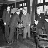 Afscheid Belgische deputatie in Casino te Treebeek