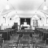 Interieur van de kapel van het Gezellenhuis Lindenheuvel Geleen