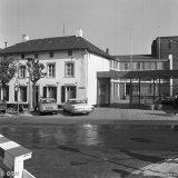 Het gebouw van de Gezamenlijke Steenkolenmijnen in Limburg (GSL) aan de Bongerd te Heerlen