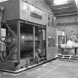 Spuitgietmachine bij Curver NV te Brunssum
