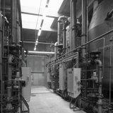 Installaties van de Waterfabriek (WAFA) op het Polychemiebedrijf
