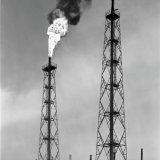 Vlampijp op de Chemische  Bedrijven