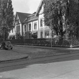 Hoofdbureau van de Staatsmijnen aan de Van der Maesenstraat in Heerlen