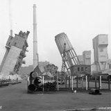 Het opblazen van de Maalcentrale en de Watertoren van de voormalige Staatsmijn Maurits