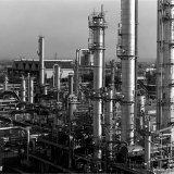 Naftakraker 3 gezien vanaf de oude kolentoren op de Lokatie Zuid