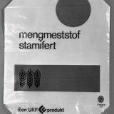 Zak voor de verpakking van de mengmeststof Stamifert met UKF embleem
