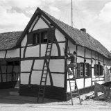 Vakwerkbouw in Banholt