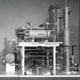 Maquette van de Fenolfabriek