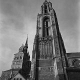 Torens van de St. Janskerk en de St. Servaaskerk te Maastricht