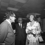Bezoek Prinses Beatrix en Prins Claus aan het Centraal Laboratorium