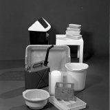 Diversen producten gemaakt van Stamylan polyethyleen