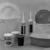 Diverse produkten gemaakt van Polyethyleen
