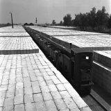 Betonblokkenfabriek op de Staatsmijn Hendrik