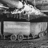 Opstelspoor voor lege wagens op de Staatsmijn Hendrik