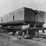 Spoorwegwagon uit 1935