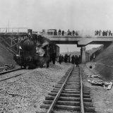 Opening van het Mijnspoor Nuth-Staatsmijn Maurits omstreeks 1917