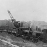 Aanleg van de Spoorweg Nuth-Staatsmijn Maurits omstreeks 1917