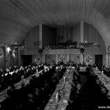 President-Directeur Groothoff tijdens een rede gehouden bij het diner in het Casino Emma