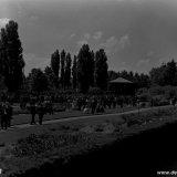 Concert in het kader van het 50 jarig jubileum van de Staatsmijnen in de Botanische tuin te Terwinselen