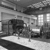 Nieuwe turbo-compressor in de Hogedruk Centrale van de Staatsmijn Emma