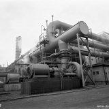 Het stook-technisch regelstation op de Cokesfabriek Maurits