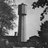 Nieuwe watertoren van de Staatsmijn Hendrik