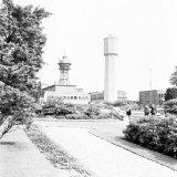 De oude en de nieuwe watertoren van de Staatsmijn Hendrik
