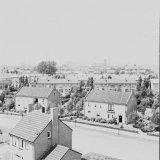 Woningen in Geleen genomen vanaf de toren van de Christus Koning kerk nabij de Kluis