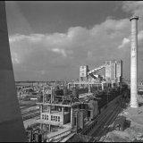 Gedeeltelijk overzicht van de Cokesfabriek Emma