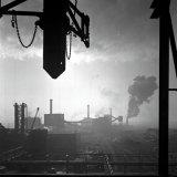 Gedeeltelijk overzicht van de Cokesfabriek Emma te Beek