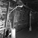 Mijngasafzuiging ondergronds op de Staatsmijn Hendrik