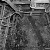 Verticale laag op de 325 meter verdieping van de Staatsmijn Emma