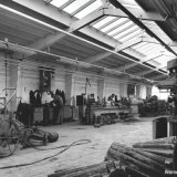 De werkplaats van de Staatsmijn Beatrix