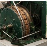 Miniatuurmijn van Harry Hendriks, detail van de ophaalmachine
