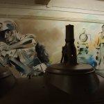 Kunstenares Miriam Vleugels in schacht Nulland