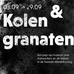 Pop-up museum: Kolen & granaten