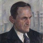 Portret van mijningenieur Antoon Bergstein