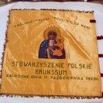 Vaandel van de Poolse Vereniging Brunssum uit 1960