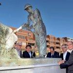 'De Mijnwerker' van Continium pronkt op Carboonplein