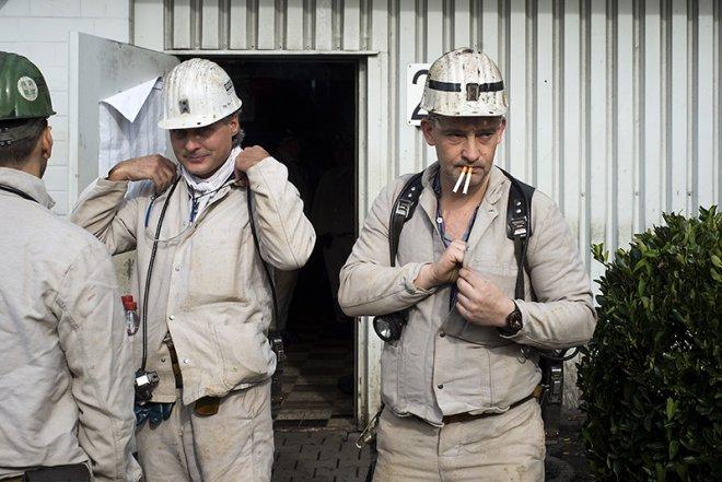 Fietsen: Coal Mine Re-cycling