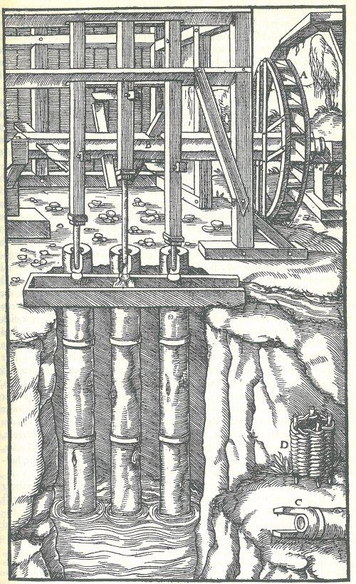 Over de mijnbouw