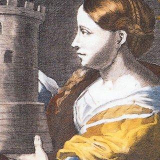 Barbara, patrones van de mijnwerkers